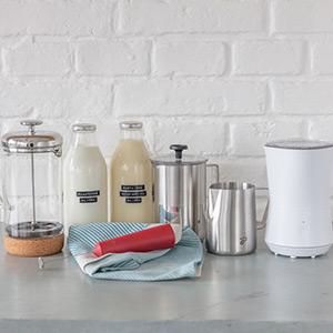 Všetko, čopotrebujete na šľahanie mlieka