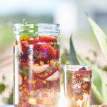 Ľadové čaje alebo vitamínové vody