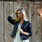 Tipy, ako nosiť koženú bundu