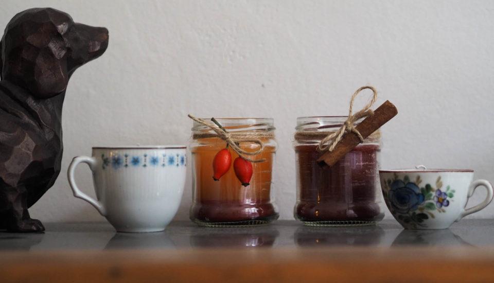 Návod na výrobu domácích svíček