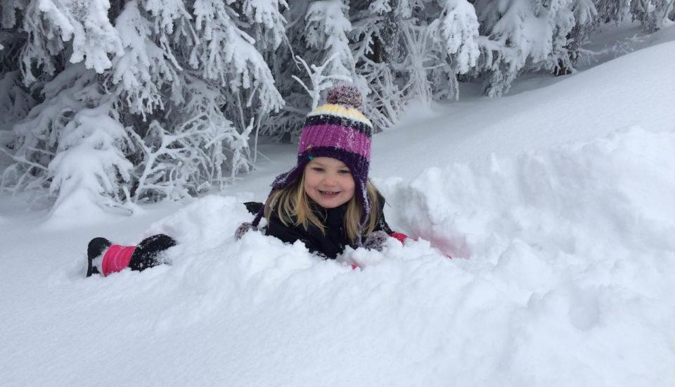 Kedy deti prvýkrát postaviť na lyže?