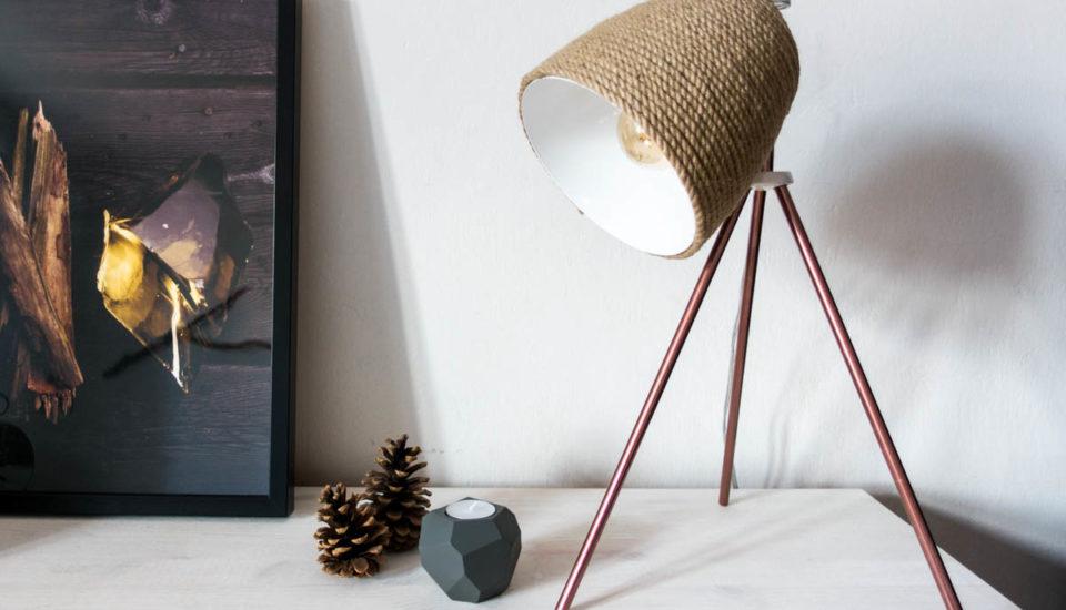 Štýlová lampa ľahko arýchlo