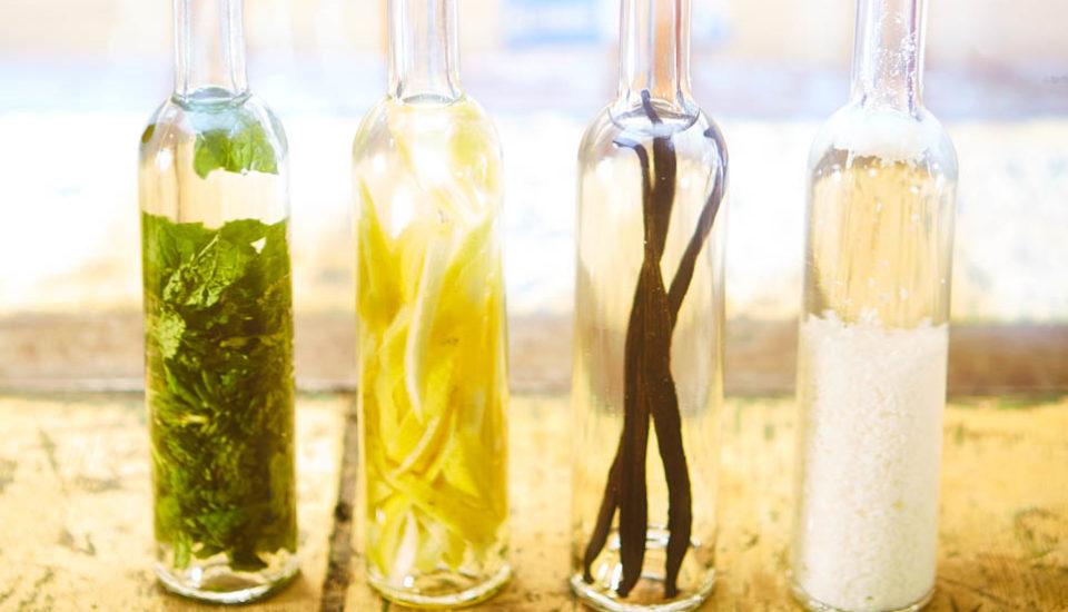 Domáce bylinkové extrakty