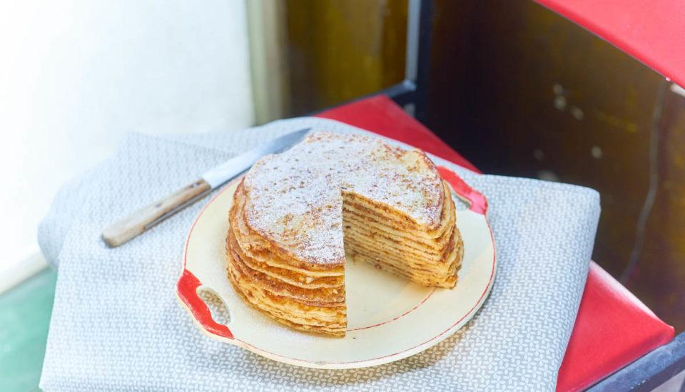 Palacinková torta