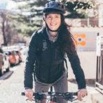Na bicykli sLindou Jablonskou aDavidom Krausom