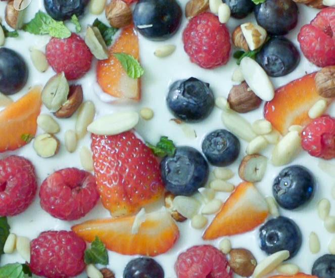 Zdravý trik: Ovocno-jogurtová zmrzlina