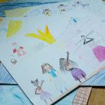 Deti kreslia vysnívané prázdniny