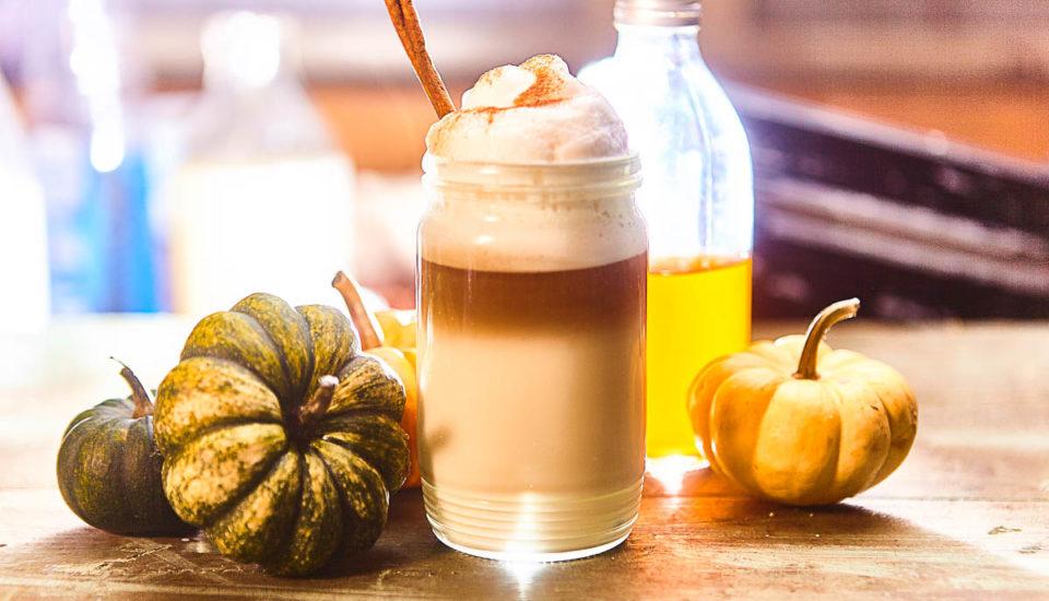 Tekvicové latte