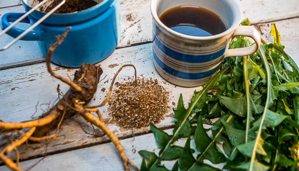 Púpavová detoxikačná káva