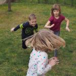 Pripomeňte si, ako sa hrajú hry na vonku