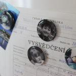 Magnetky na chladničku zvlastných fotiek
