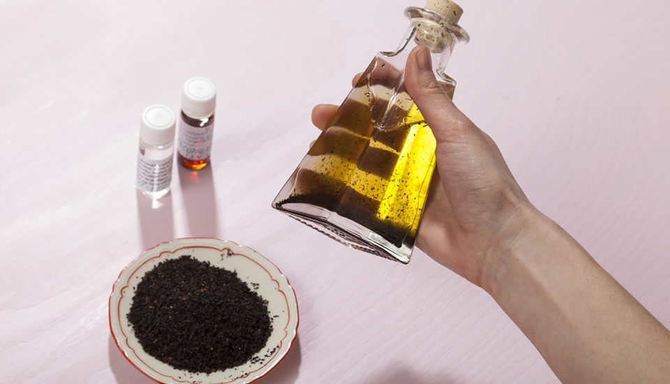 Domáci masážny olej