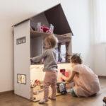 Domáci domček pre bábiky pre vašu malú princeznú