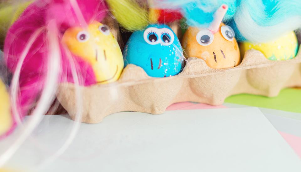 Veľkonočné DIY sdeťmi: kraslice ako farebné poníky
