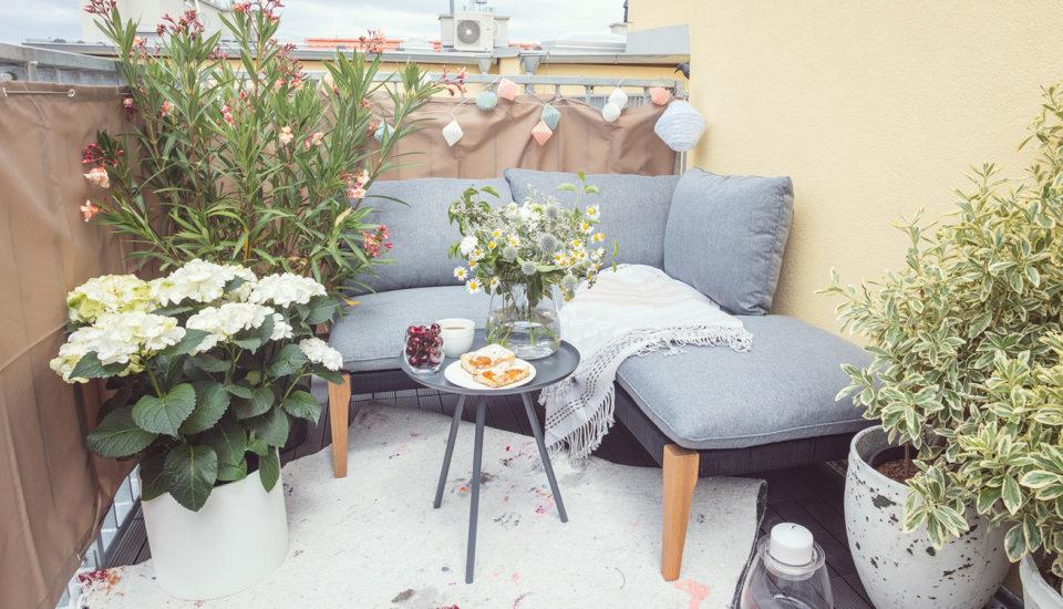 Ako zkaždého balkóna vytvoriť letné útočisko