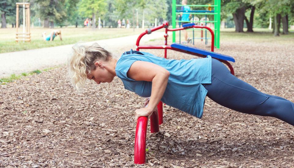 Ako si zacvičiť vparku ako vo fitku?