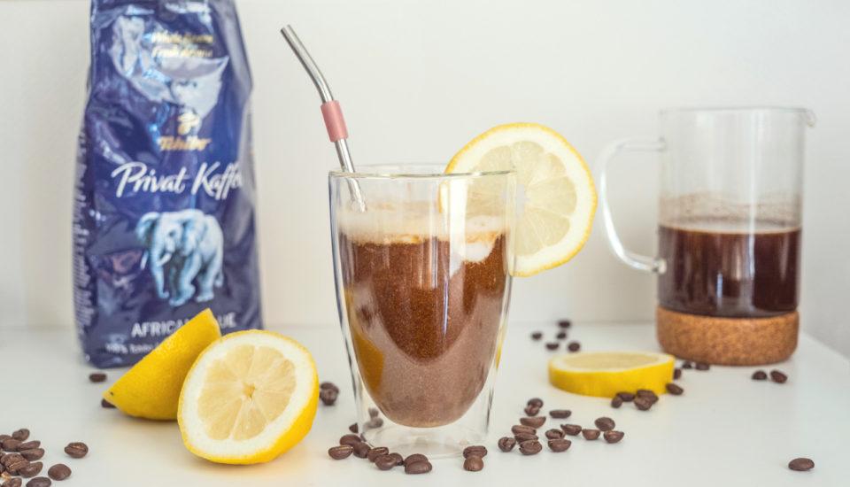 Osviežujúci experiment skávou: citrónové cold brew