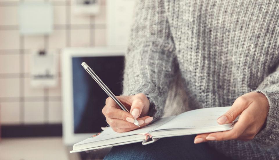 Denník nie je len pre puberťákov, ale užitočná pomôcka na celý život
