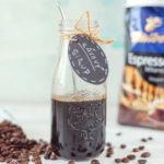 Domáci kávový sirup na zdobenie