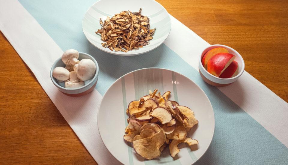 Ovocie aj huby môžete sušiť vo veľkom aj bez sušičky