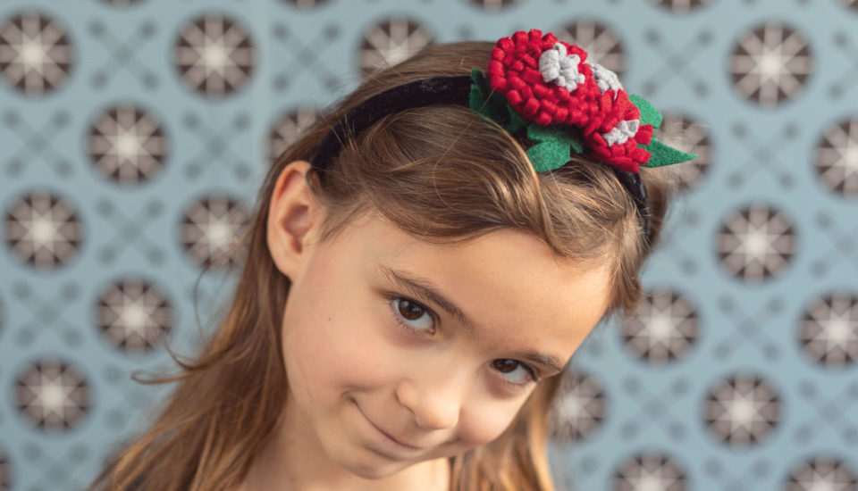 Tip nielen pod stromček: kvety do vlasov