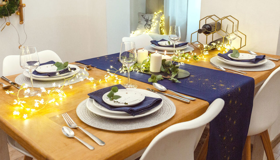 5 detailov, ktoré spolu vyčarujú slávnostný stôl