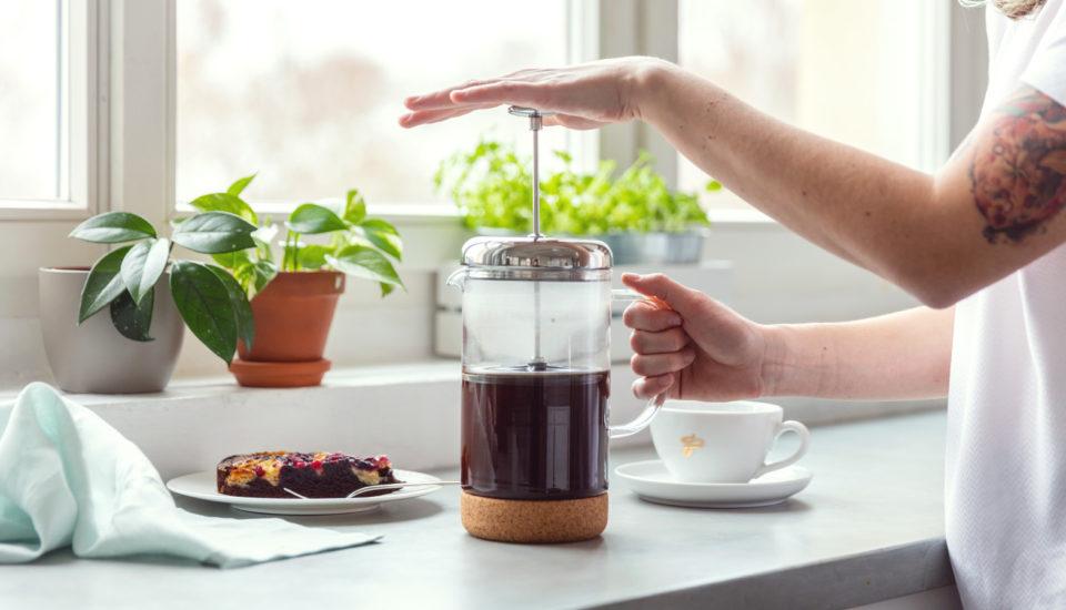 Ako si pripraviť kávu vo french presse