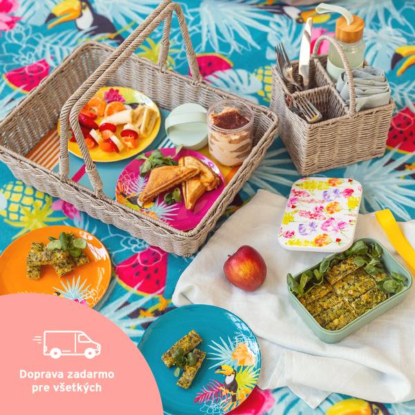 Vybavte sa nielen na piknik