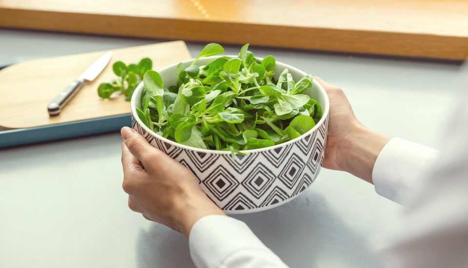 Polníček nepatrí len do šalátu – využívam ho aj vteplej kuchyni