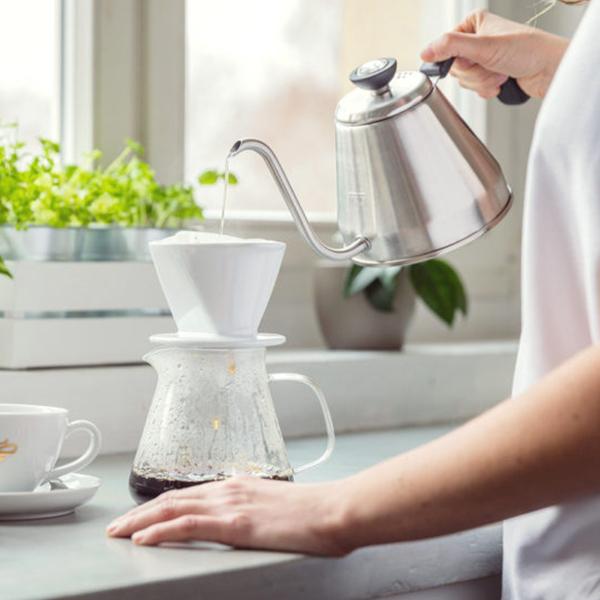 Pripravte si filtrovanú kávu