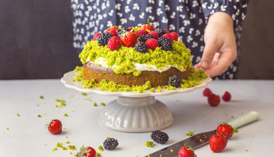 Neobvyklá torta? Unás frčí tá machová so zeleným prekvapením