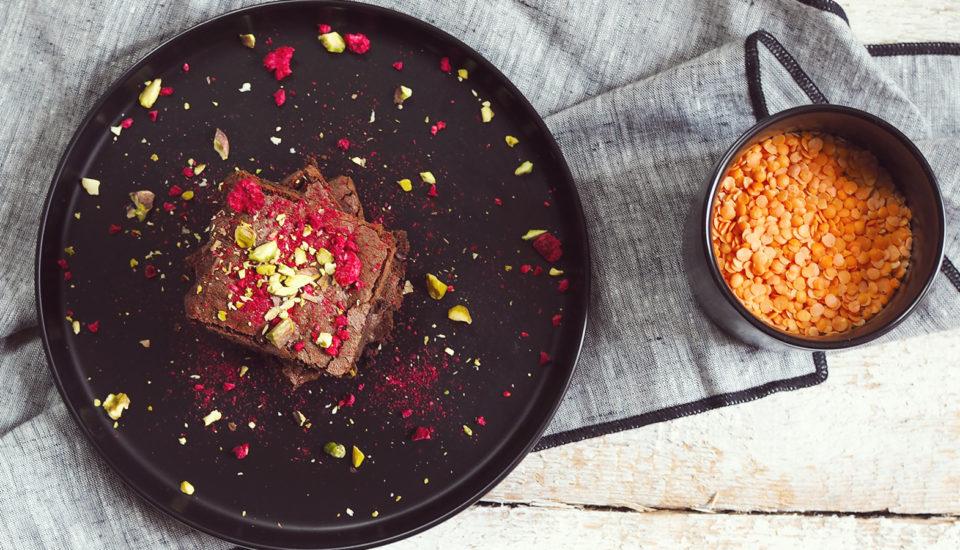 Už ste niekedy jedli šošovicu sčokoládou? Verte mi, chutí to skvelo!
