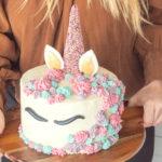 Jednoduchý návod arecept na tortu sjednorožcom (nielen) pre malé princezné