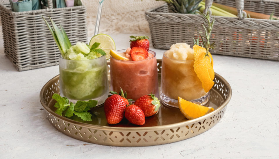 Domáca ľadová drť: rebarborová, ananásovo-uhorková aj spríchuťou kávy. Ako na to?