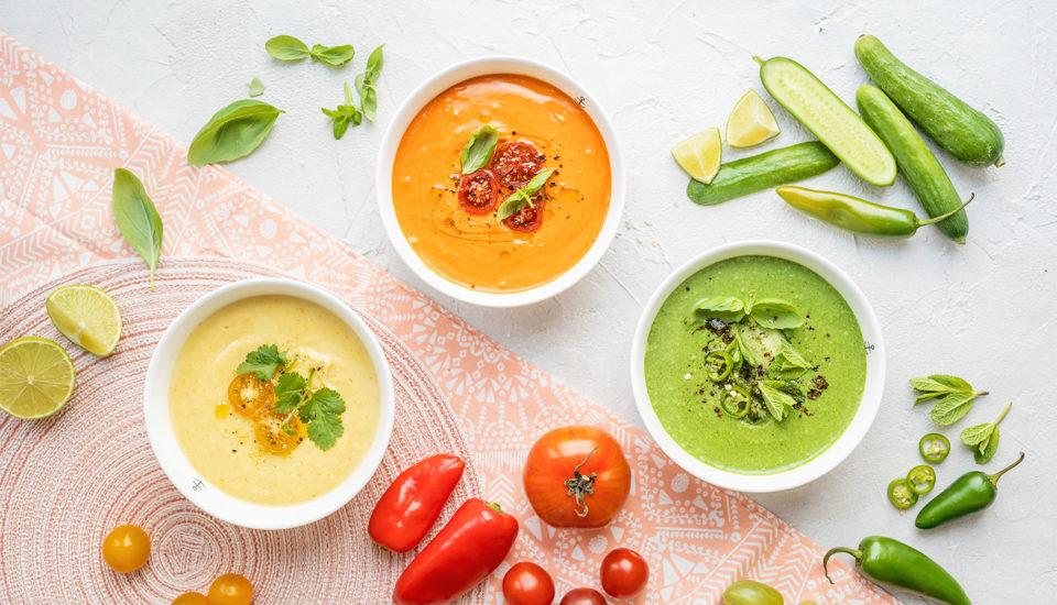 Studené polievky sú letným hitom! Tri vyladené recepty aj univerzálny návod