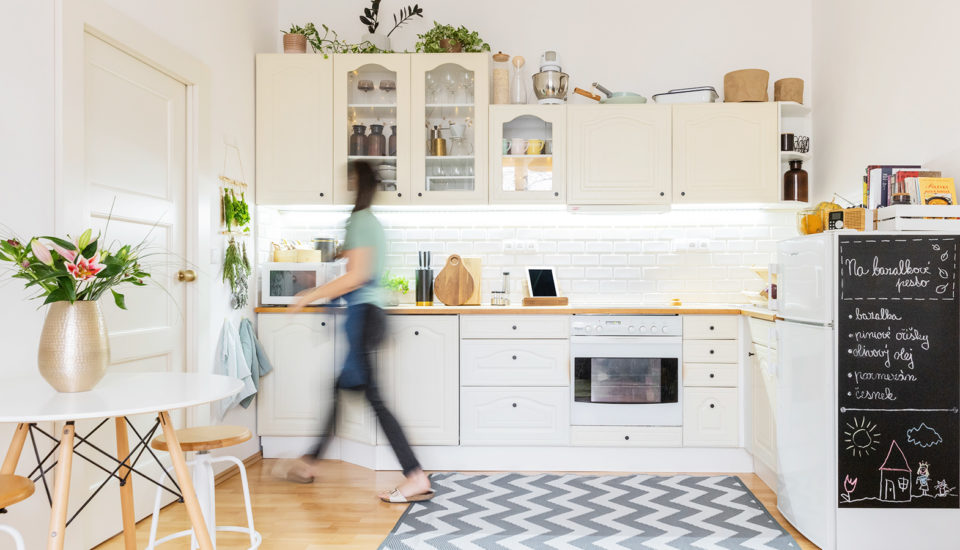 Ako som si urobila kuchyňu posvojom, aj keď vo svojom ešte nebývam