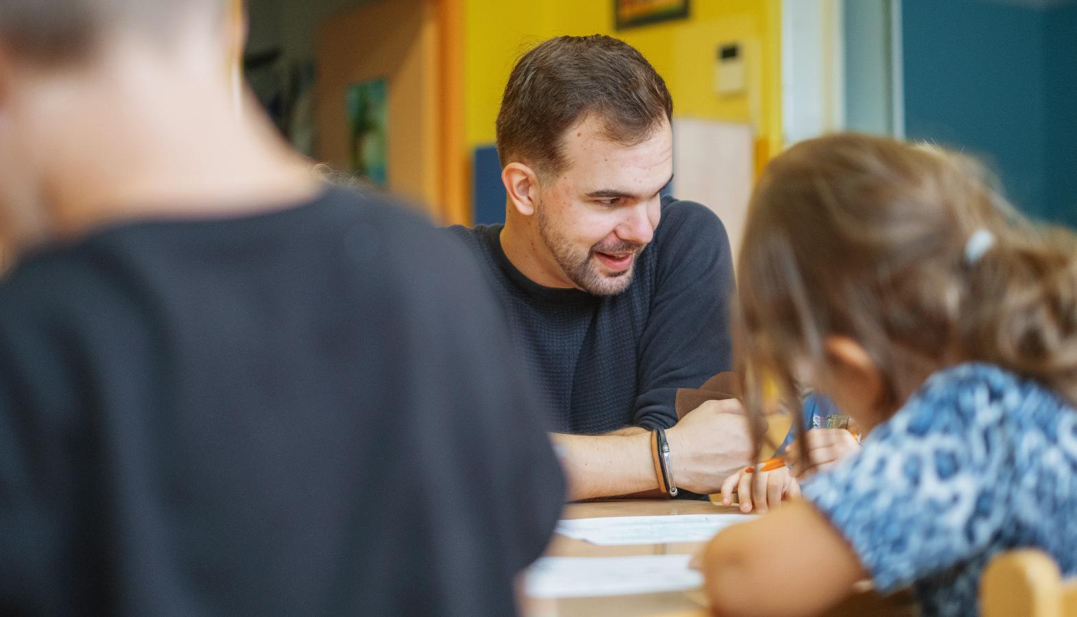 rozhovor s učitelem ze školky