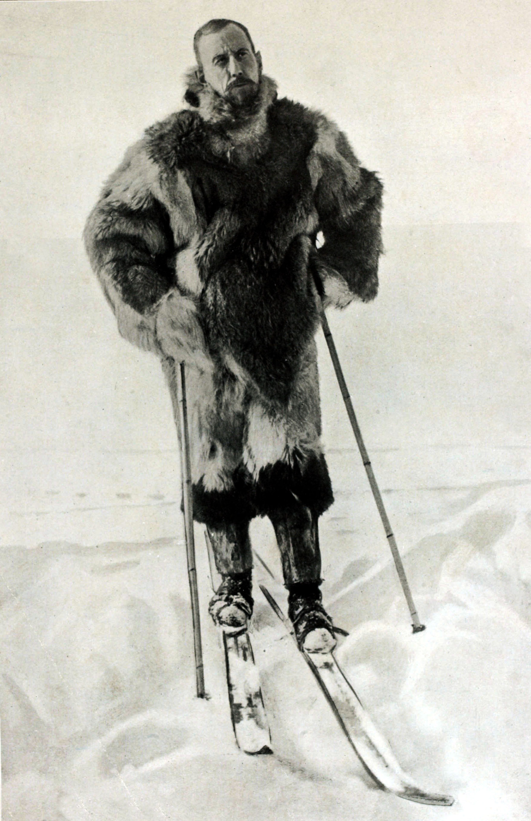 Arctic Exploration, Personalities, pic: circa 1911, Captain Roald Amundsen, (1872-1928) Norwegian explorer the first man to navigate the North west Passage and to reach the South Pole (Photo by Bob Thomas/Popperfoto/Getty Images)