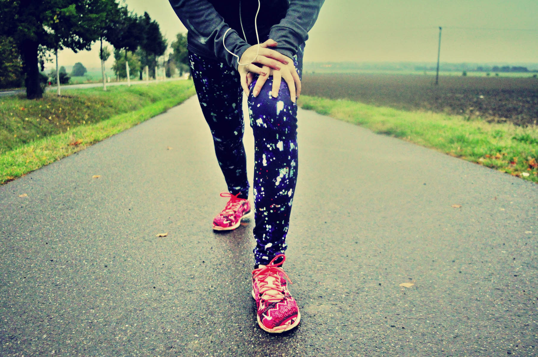běh ráno