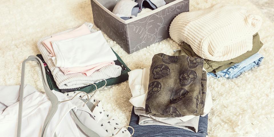 Ako vytriediť oblečenie?