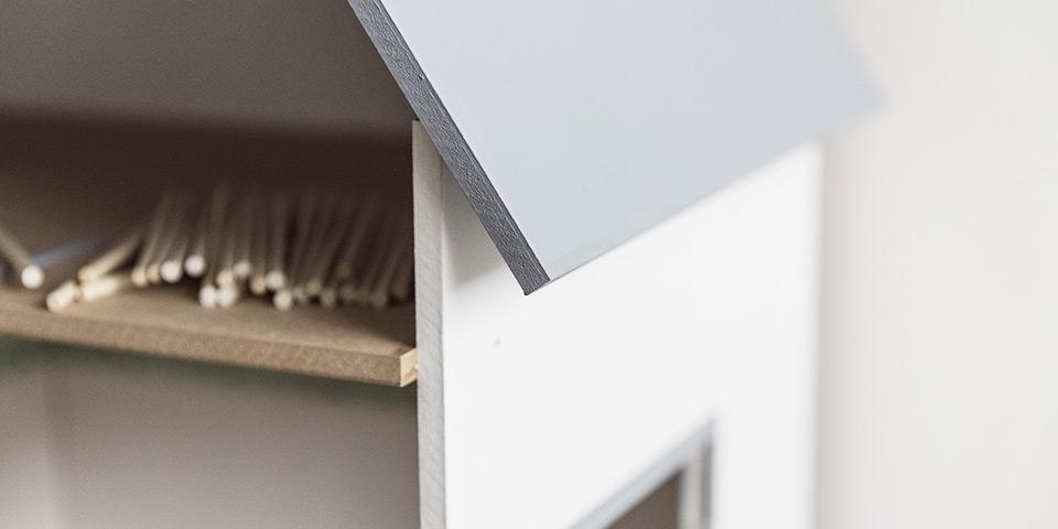 Domček pre bábiky, ktorý si vyrobíte doma (ilustračná fotka nášho domčeka)