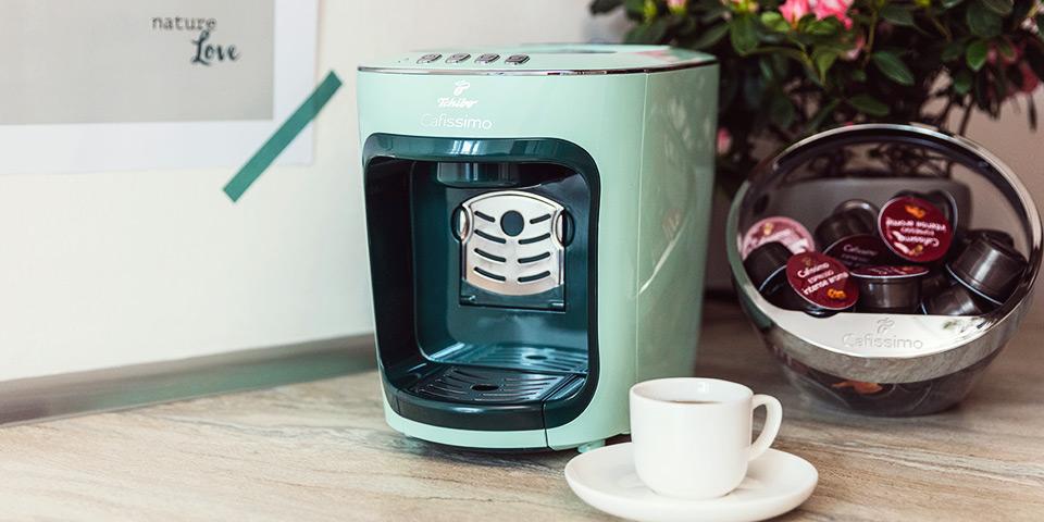 Kávovar Cafissimo Mini Pastels v zelenej farbe