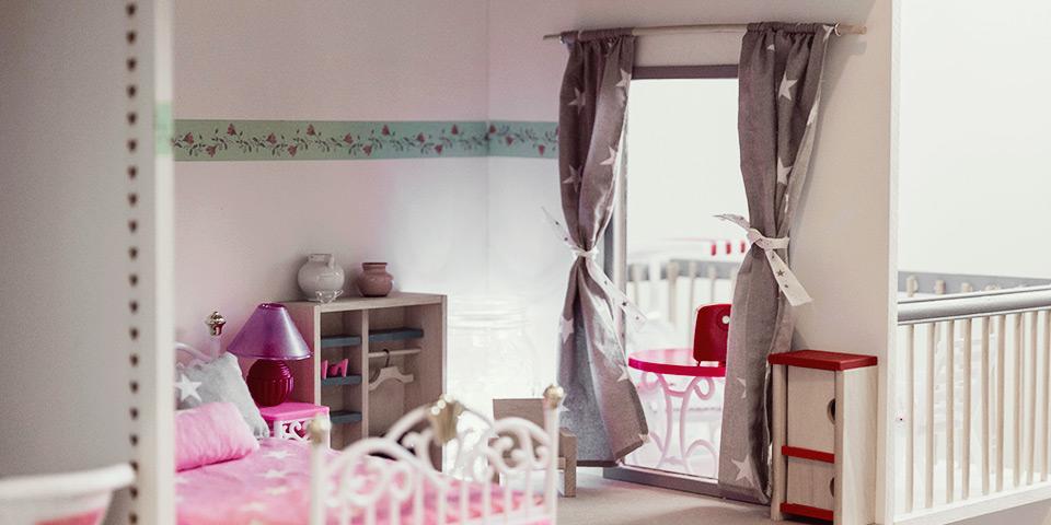 Takto môže byť domček vyzdobený (ilustračná fotka nášho domčeka)