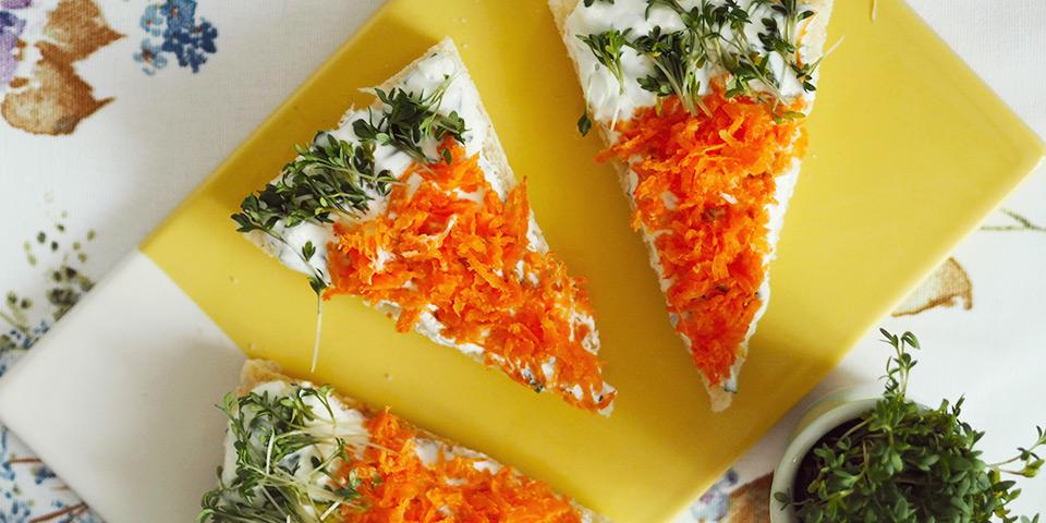 Chlebíčkové mrkvičky (foto)
